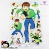 Handsome hero cartoon boy fashion room wall sticker