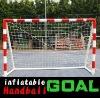 handball training(8*5 INFLATABLE PORTABLE HANDBALL GOAL)