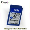 4GB High Speed SD memory Card