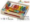 wooden music instrument box