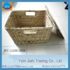 2012 decoration rectange water hyacinth storage box
