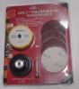 """6-pc 3"""" Velcro Rolok Sanding Kit"""