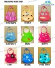 cartoon silicone bibs for baby