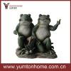 garden resin animals frog tabletop figurine sculpture