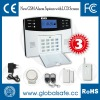 LCD security GSM wireless SMS alarm systems with Auto-dial