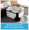 Luxury massage bathtub M-BTV007