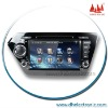 DH-6503F 8Inch Touch Screen 2Din Car dvd player with GPS for KIA K2 with IPOD GPS TV Bluetooth Multi-Media GPS SysterManufactory