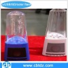 LED Colorful Fountain Water Speaker with Multi Card Reader