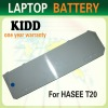 High quality Laptop Battery for HASEE X260 Series T20-2S3400-BIY1