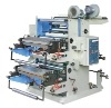 Two Colors Plastic Film and Non woven Fabric Flexographic Printing Machine