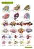 2012 Fashion grosgrain korker hairbows