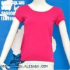 Women summer wear sportwear no sideseam tshirt
