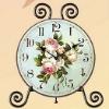 Decorative Wood table clock /Decorative wooden table clock/Decorative desk clock