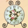 Decorative Wood table clock /Decorative wooden table clock/Decorative desk clock