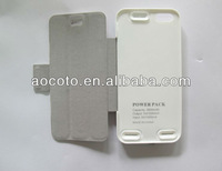 Factory supply 2600 mAh Capacity Battery Case for iPhone5
