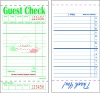 GUEST CHECK , RESTAURANT DOCKET BOOK,WAITER DOCKET BOOK
