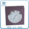 Hotel PU Leather Cover Alarm Clock