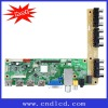 LCD/LED Driving Board for Analog TV, Supports Full HD 1,920 x 1,080p/3 x HDMI/MPEG1/2/4/RMVB/VC1/FLV