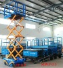 Hydraulic Work Platforms lifting by battery