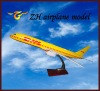 DHL airplane model