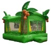 inflatable jumpers, bouncy castle tropical theme bouncer G1174