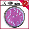 12 inch Metal Wall Clock with flash dial