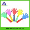 "15 "" Colors Plastic Toy Hand Shaped Clappers Noise Maker"