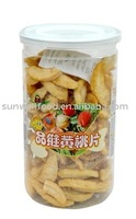 Low Temperature Vacuum Fried Yellow Peach Snacks