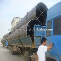 X52 SSAW Steel Oil Pipeline