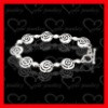 nice quality 925 sterling silver tennis bracelet
