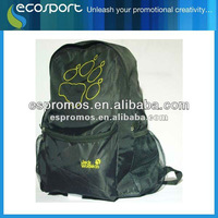 promotional cheap sport and travel foldable backpack