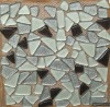 free stone mosaico,mosaico de vidro,laser glass mosaic