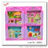 wholesale plastic dolls house furniture sets