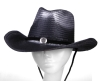 WOMEN'S PAPER COWBOY STRAW HAT