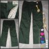 Wholesele Fashion Straight Slim Zip ladies Pants,women's pants,long trousers