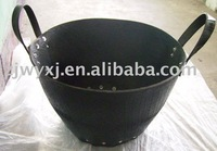 recycled tire basket,strong rubber buckets for construction