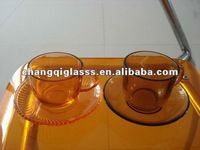 glass tea cup new style coffe cups and saucer, capuccino glass,new arts