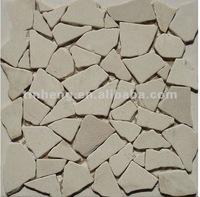 Random mosaic design for wall and floor decoration