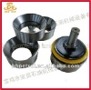 Valve seat and valve body for mud pump
