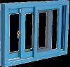 75 series fiberglass window
