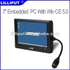 Lilliput 7 Inch Wince Industrial Touch Panel Complies with IP65 Standard