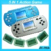Sell LCD Action Game with 5 cards
