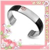 High polish stainless steel jewelry fashion bracelet