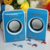 Customize 3D sound Portable 2.0 Speaker