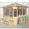 KD-892 wooden gazebos with high quality