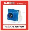 CE Industrial plug and socket , waterproof plastic electric plug and socket , weatherproof IP67