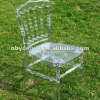 Clear Resin Napoleon chair for wedding