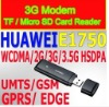 Huawei E1750 3G Dongle for Most Tablet PC FlyTouch SuperPad, FlyTouch 3 SuperPad III, Zenithink ZT180 ZT280, Via 8650 MID
