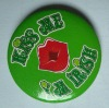 Promotional Metal Tin Button Badge