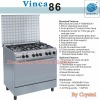 Vinca86 Gas Cooking Range